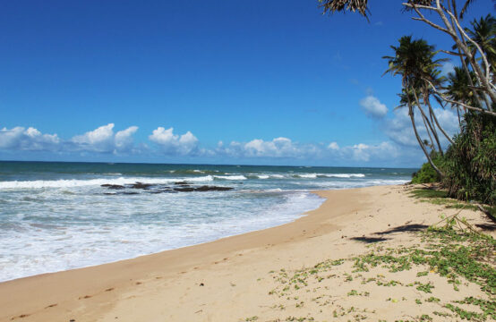 Remote Beachfront property for sale