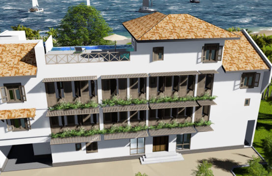 A fantastic hotel development opportunity on the beach