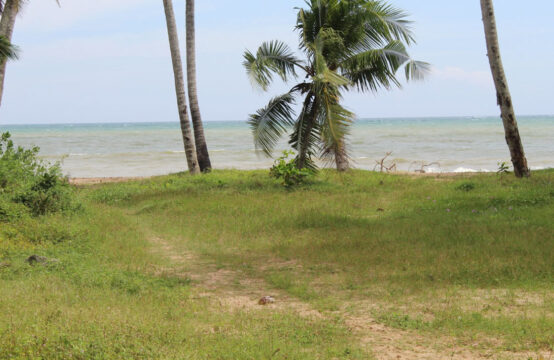 Beachfront land for sale in Tangalle