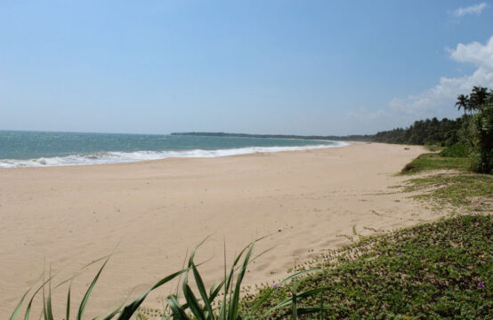 Stunning beachfront land for sale in Rekawa