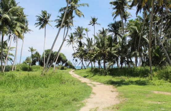 Land for sale on Ahangama beach